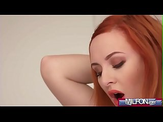 Russian MILF gags on English cock(Eva Berger) 01 mov-14