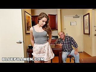 Blue pill men Old man duke gets his dick wet with young escort naomi alice