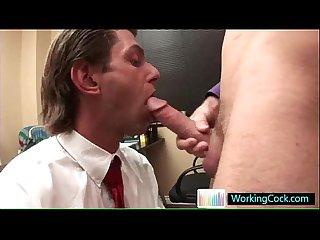 Sucking and fucking on the job by workingcock