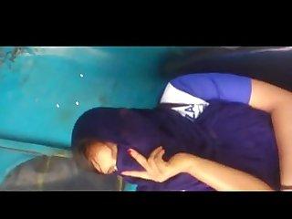 Indian girl dick flash in auto rikshaw