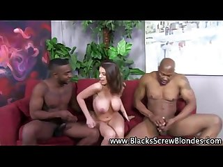 Hardcore interracial slut blowjob fuck