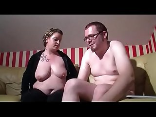 Fat girl fucks her boyfriend