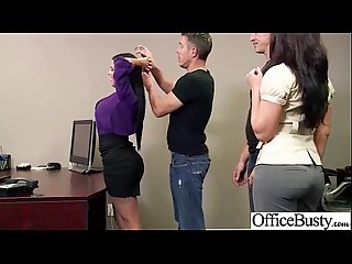 Sex in office with nasty wild busty worker girl Vid 18
