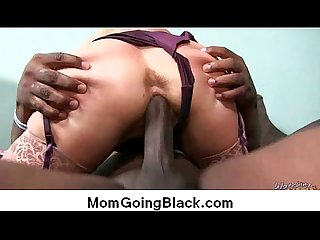 Big black cock on my mom Interracial porn video 10
