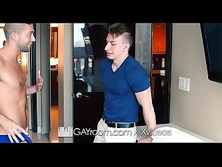 GayRoom Sexy speedo turns Kyle Kash into a sex maniac