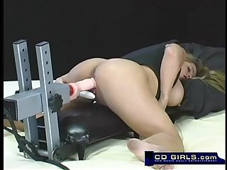 Pornstar friday fucks the erotochine Sex machine
