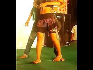 Desi hot stage dance