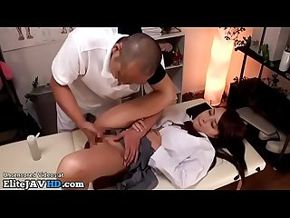 Japanese 18yo schoolgirl massage went too far
