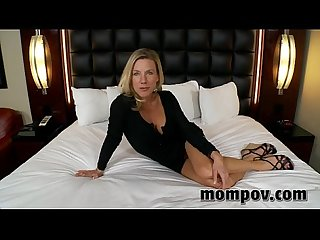 Tight blonde milf gets fucked hard