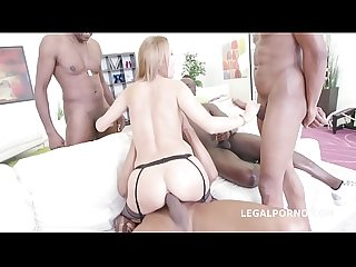 Interracial Xxx dap action leaves slut Emily thorn s asshole destroyed by 3