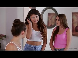 Adria rae and her bff visit a massage parlour scarlett sage and lana rhoades