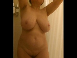 Mom s big boobs in the shower by marierocks