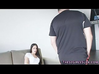 Teen pov swallows load