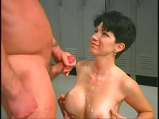Coral sands makes her man work hard for the pussy great sex and fight