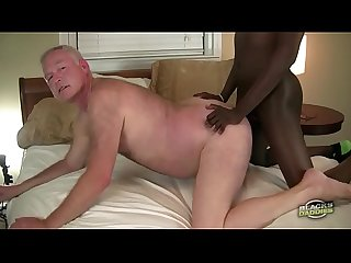 Big Black Dicked Teen Fucks White Grandpa