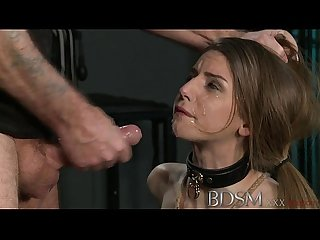 Youporn bdsm Xxx young big breasted sub gets hard anal from her master