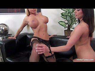 Nikita von james hot lesbian milfs