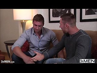 Lovely dude owen michaels comforts connor by sucking his cock