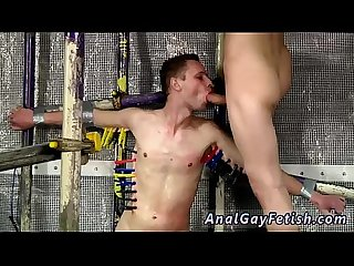 Male cartoon bondage gay first time Feeding Aiden A 9 Inch Cock