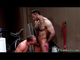 Hairy hung muscly bears