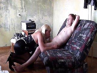 Amateur sissy fuck