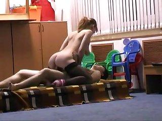 Cogiendo en salon de clase con la profesora