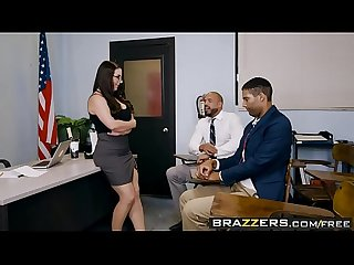 Brazzers big tits at school parent fucking teacher meetings scene starring angela white and karl