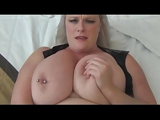 Naughty huge tit lady cop gets creampied after being ruining my party