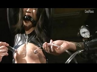 Vacuum nipple huge nipple forced Enema slave girl Lesbian detective period