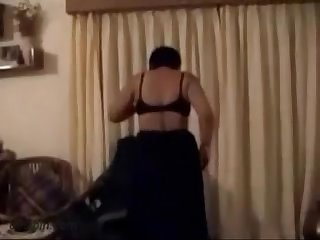 Indian aunty exposes sucks and ass fucked