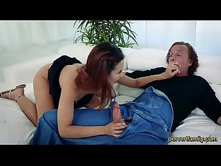 Pervertfamily-horny daughter fucked by dad on father�s day