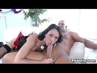 Anal time with a big cocked tranny christian xxx and danika dreamz