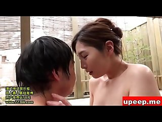 Milf hot spring creampie mature asian