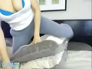 latino cam whore tied up and forced to cum by ohmibod CamJoie.com
