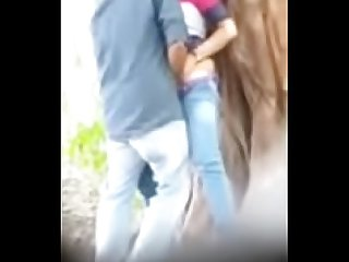 Delhi college couple fucking in the park