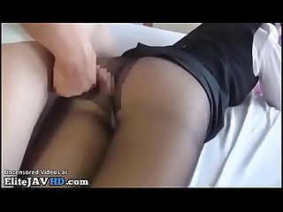 Jav hostess pantyhose foot fetish sex - More at Elitejavhd.com