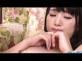 Amateur teen tsuna kimura endures two dongs in her vag