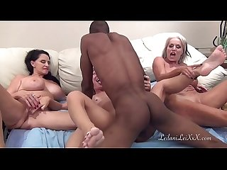 Peniscolada three milfs and a black cock