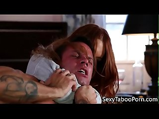Taboo redhead pounded by horny stepbrother