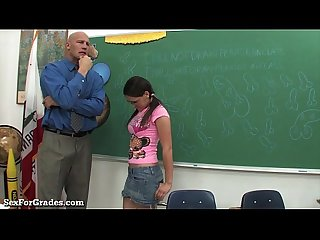 Teen bounces on her teacher S hard cock excl