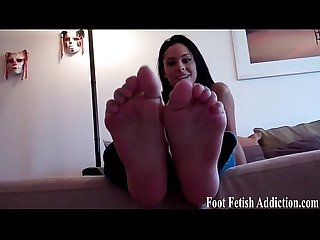 Cum on my cute feet