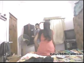 Real indian college couple amateur homemade sex indianhiddencams period com