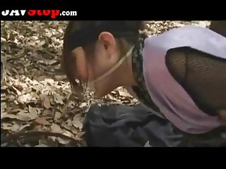 Japanese ninja girl gets fucked