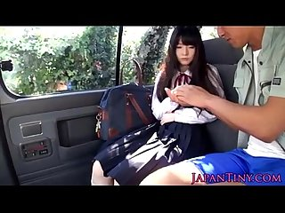 Tiny japanese schoolgirl mouth fucked in car xhamster com