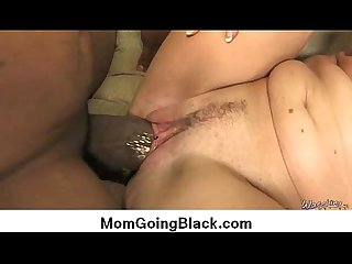 Interracial cougar porn from watching my mom go black 2