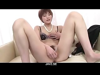 Saori�s Busy With Her Vibrator On Her MILF Pussy - From JAVz.se