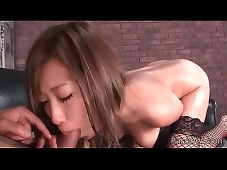 Wonderful asian girlfriend aika cooks creampie in her sweet trimmed pussy