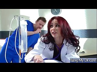 Hard Sex Tape With Dirty Doctor And Slut Patient (monique alexander) clip-22