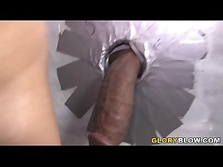 Busty Blonde Lea Lexis Sucks Shane Diesel's BBC - Gloryhole