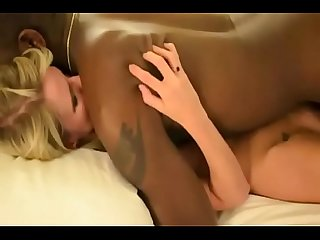 Pornlots.com - BBC fucks skinny blonde wife